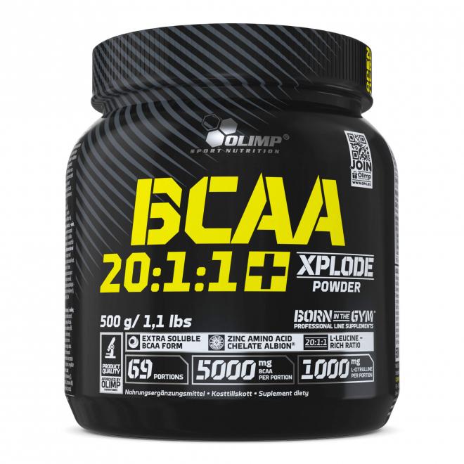 Olimp-BCAA-20:1:1-Xplode-Powder-500-g