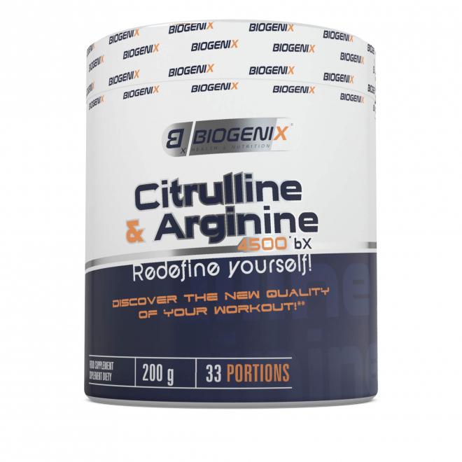 Biogenix-Citrulline&Arginine-4500-BX-200g