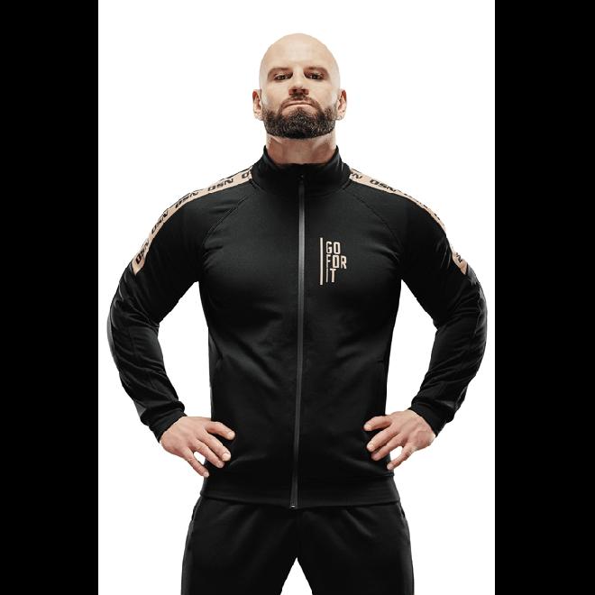 Męska bluza sportowa Olimp - Men Tracksuit Top Gold Series