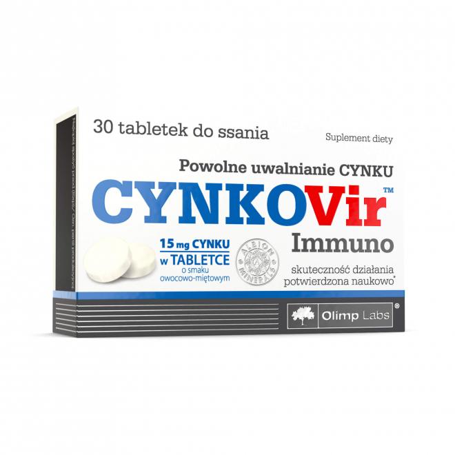 Olimp-Cynkovir-Immuno-30-Tabletek-do-ssania