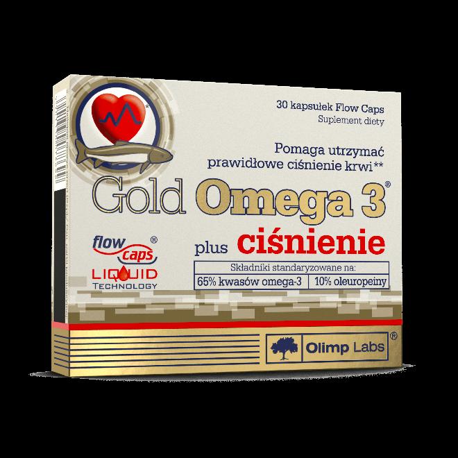 Olimp-Gold-Omega-3-plus-ciśnienie-30-Kapsułek-Flow-Caps