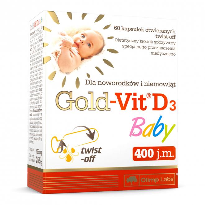 Olimp-Gold-Vit-D3-Baby-60-Kapsułek