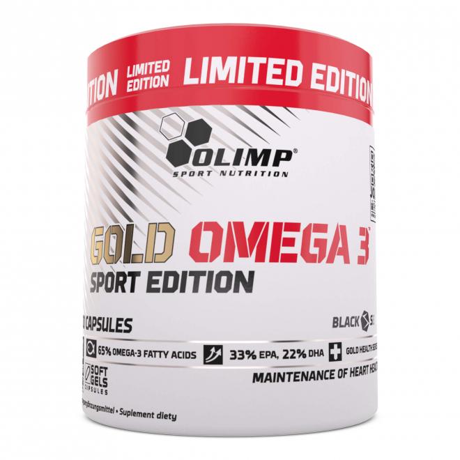 Olimp-Gold-Omega-3-Sport-Edition-Limited-Edition-200-Kapsułek