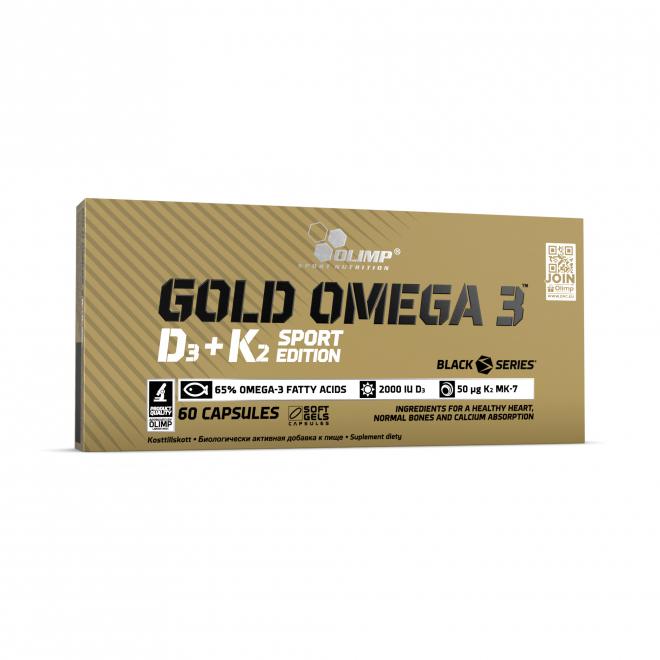 Olimp-Gold-Omega-3-D3+K2-Sport-Edition-60-Kapsułek