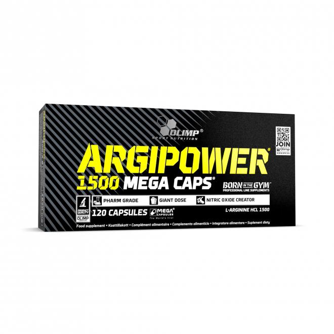 Olimp-ArgiPower-1500-Mega-Caps-120-Kapsułek