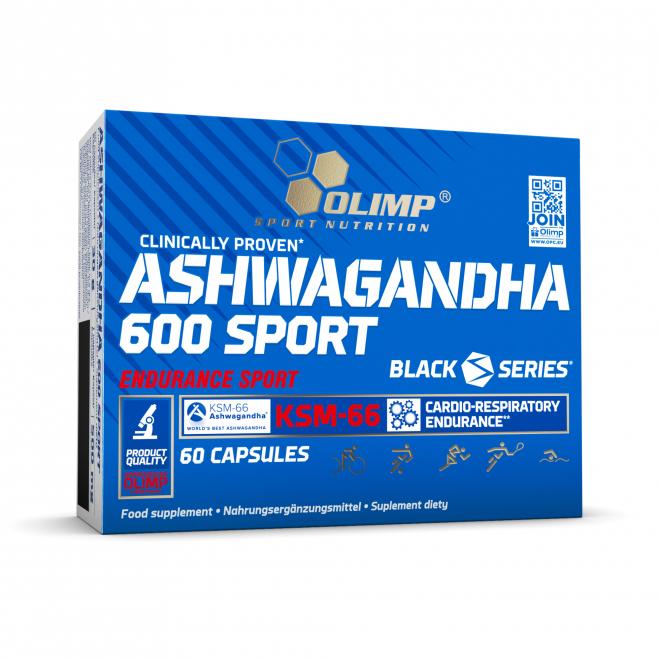 Olimp-Ashwagandha-600-Sport-60-Kapsułek