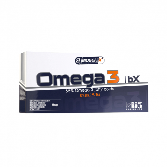 Biogenix-Omega 3-BX-90-Kapsułek