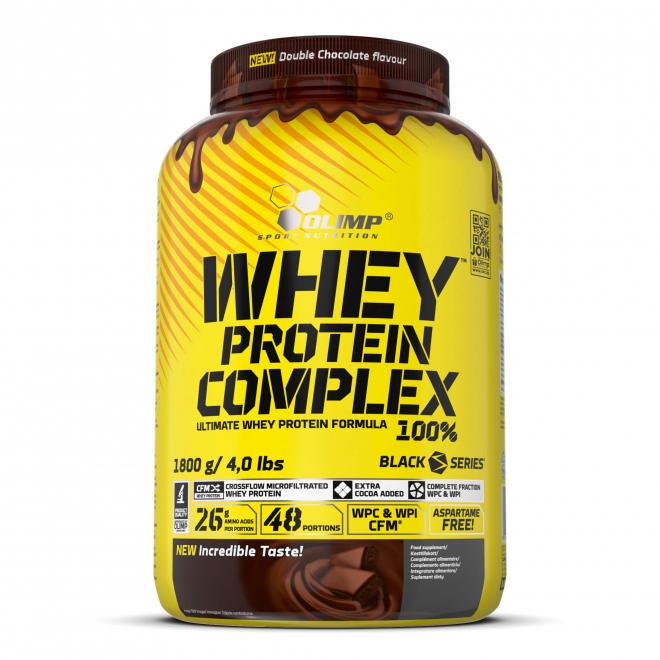 Olimp Whey Protein Complex 100% - 2270 g - Podwójna Czekolada